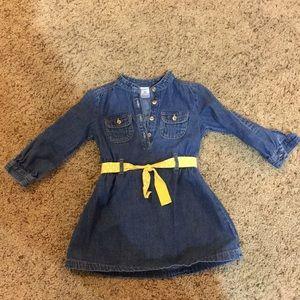 Carters girls 2T denim dress